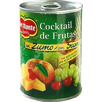 Del Monte Cóctel de frutas en zumo Lata 250 g neto escurrido