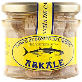 Arkale Lomo de bonito en aceite de oliva Frasco 150 g