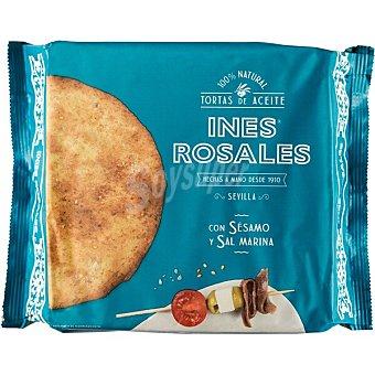 Ines Rosales tortas de aceite con sésamo y sal ideales para aperitivo paquete 180 g