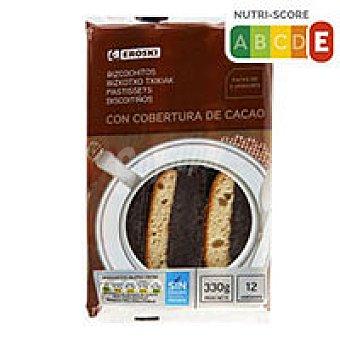 Eroski Bizcochitos chocolate 250g