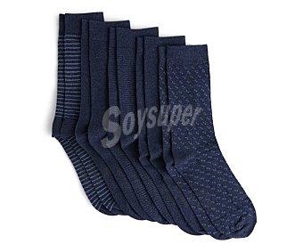 In Extenso Lote de 5 pares de calcetines para hombre Talla 39/42.