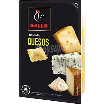Gallo Ravioli relleno de cuatro quesos 250g
