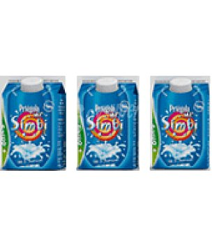 Priegola Yogur líquido probiótico con omega 3 natural desnatado 3x250ml Pack de 3x250 ml
