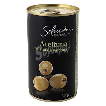 Carrefour Selección Aceituna rellena de anchoa 150 g