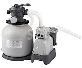 BESTWAY Depuradora de arena con potencia de 8000 litros/hora, deposito de 45 litros con filtro anti-corrosión. Ideal para piscinas de hasta 30 metros cúbicos 1 unidad