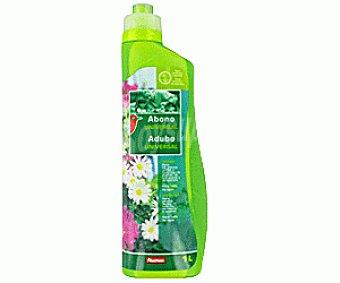 Auchan Abono líquido universal, válido tanto para plantas de interior como de exterior 1 litro