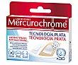 Apósitos multiusos anti infecciones con tecnología plata MERCUCHROME  30 uds Mercurochrome