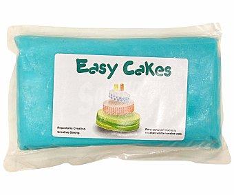 EASY CAKES Fondant, pasta de azúcar azul 250 Gramos