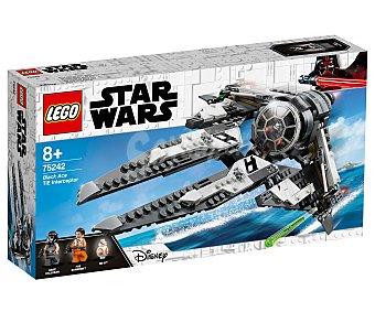 LEGO Star Wars Juego de construcciónes Interceptor TIE Black Ace con 396 piezas, Star Wars 75242 lego