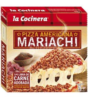 La Cocinera Pizza Mariachi con carne 450 g