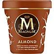 Helado almendras con fragmentos de chocolate tarrina 297 g Frigo Magnum