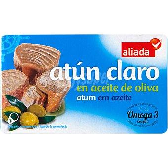 Aliada Atún claro en aceite de oliva Lata 73 g neto escurrido