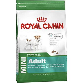Royal Canin Mini adult pienso para perros adultos de razas pequeñas + a partir de 10 meses bolsa 2 kg 10 kg