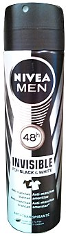 Nivea For Men Desodorante spray hombre antimanchas invisible Bote 150 cc