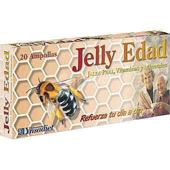 YNSADIET Jelly Edad Jalea real Estuche 20 unidades