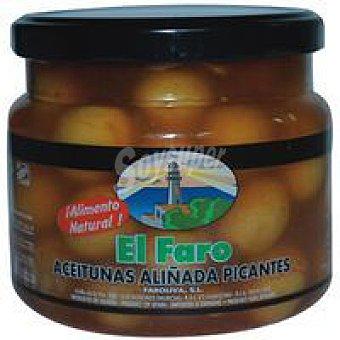 Faro Aceitunas aliñadas picantes Frasco 500 g