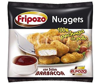 Fripozo Nuggets de pollo con salsa barbacoa 300 gr