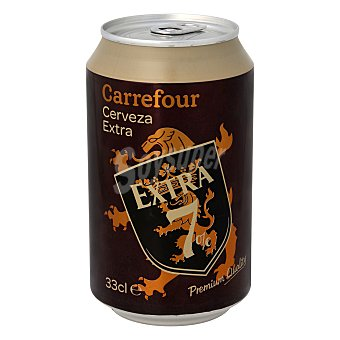 Carrefour Cerveza Extra 33 cl