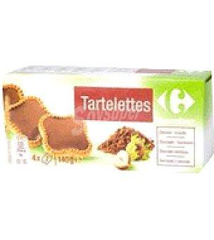 Carrefour Tartaleta con chocolate 140 g