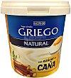 Yogur griego natural con azúcar de caña  8 unidades de 125 g  Hacendado