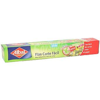 Albal Film transparente corte fácil 20 M Caja 1 u