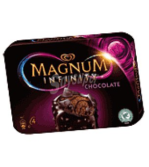 Frigo Magnum Magnum Helado Infinity choc 4 ud