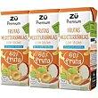 Zumo con leche frutas Mediterráneas 3x20cl Zü Premium