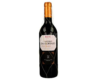 Castillo San Lorenzo Vino tinto gran reserva con denominación de origen Rioja Botella de 75 cl