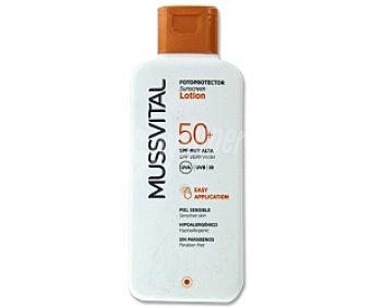 Mussvital Fotoprotector leche solar FP50 200 Mililitros