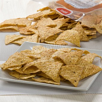 Carrefour Nachos barbacoa en triángulos 170 g