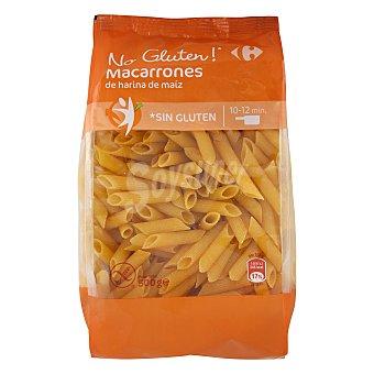 Carrefour Macarrones No Gluten sin gluten 500 G 500 g