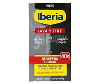 Iberia Tinte Lava y Tiñe Negro 1 Unidad