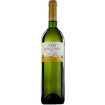 CEPA BOSQUET Vino blanco macabeo de Andalucía Botella 75 cl