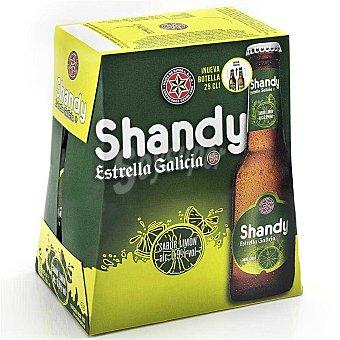 Estrella Galicia Cerveza Shandy 6x25 cl