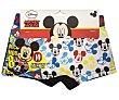 Pack de 2 bóxers para niño mickey mouse, talla 6/8  Disney