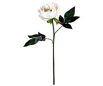 Essencial Vara de peonia artificial color blanco, con tamaño de 61 cm, para decoración del hogar, essencial