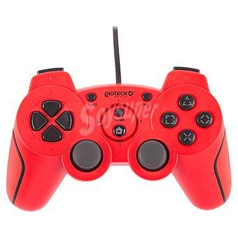 PS3 Mando con cable Gioteck VX-2 rojo para PS3