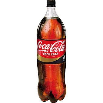 Coca-Cola Zero Refresco de cola sin cafeína Botella 2 litros