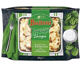 Buitoni Lasaña rellena de queso Ricotta y espinacas elaborada con pasta fresca al huevo 350 g