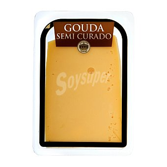 Holland Corona Queso barra lonchas gouda semicurado Paquete 300 g aprox