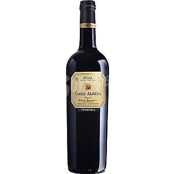 Gran Albina Vendimia vino tinto reserva D.O. Rioja botella 75 cl Botella 75 cl