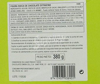 Simón Coll Maleta de chocolate 380 gr