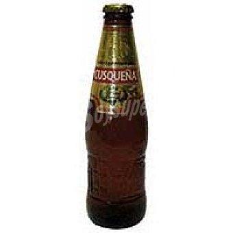 Cusqueña Cerveza dorada Botellín 33 cl