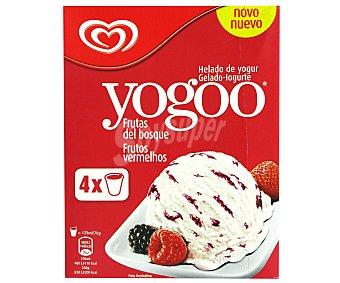 Yogoo Frigo Helado de yogur de frutas del bosque caja 500 ml 4 uds