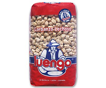 Luengo Garbanzos Lechosos Paquete 1 Kilo