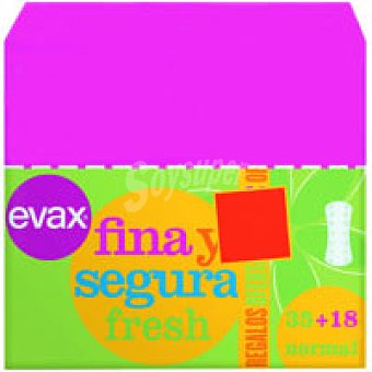 EVAS F&S Protector normal Caja 35+18 unid