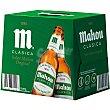 Cerveza clásica Pack 12 botellas 25 cl Mahou