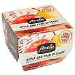 Postre de manzana y pera sin azúcar añadido Fruits Pack de 2 unidades de 100 g Anela