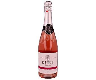 Bodega Félix Solís Avantis Vino rosado espumoso seco duet botella de 75 centilitros