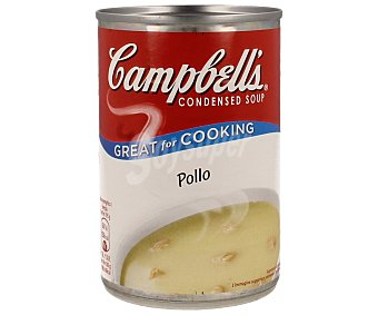 Campbell's Sopa concentrada de pollo 295 gramos